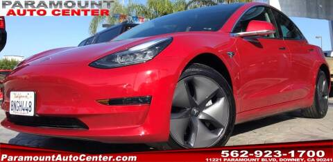 2020 Tesla Model 3 for sale at PARAMOUNT AUTO CENTER in Downey CA