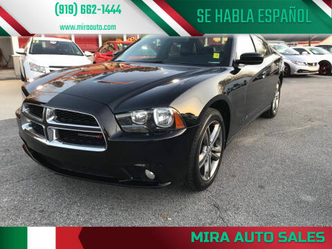 2014 Dodge Charger for sale at Mira Auto Sales in Raleigh NC