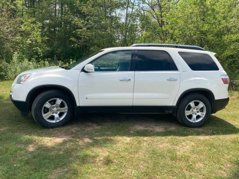 2009 GMC Acadia for sale at Expressway Auto Auction in Howard City MI