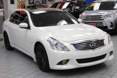 2015 Infiniti Q40 for sale at Windy City Motors in Chicago IL