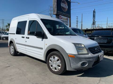 2012 Ford Transit Connect for sale at Best Buy Quality Cars in Bellflower CA