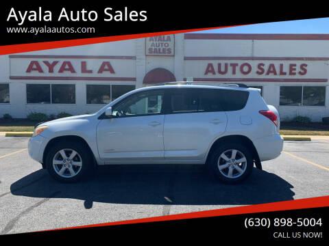 2008 Toyota RAV4 for sale at Ayala Auto Sales in Aurora IL