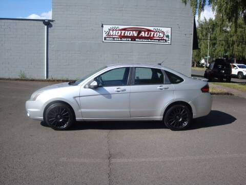 2010 Ford Focus for sale at Motion Autos in Longview WA