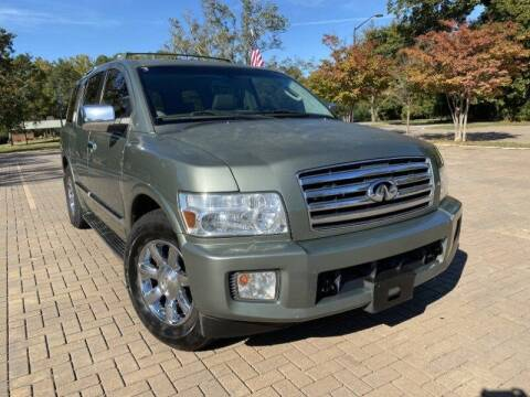 2005 Infiniti QX56 for sale at JES Auto Sales LLC in Fairburn GA