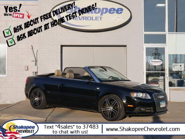 2009 Audi A4 for sale at SHAKOPEE CHEVROLET in Shakopee MN
