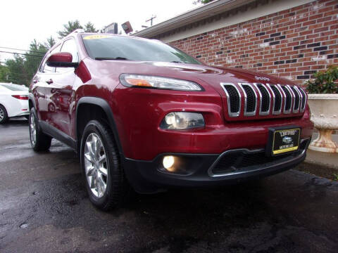 2014 Jeep Cherokee for sale at Certified Motorcars LLC in Franklin NH