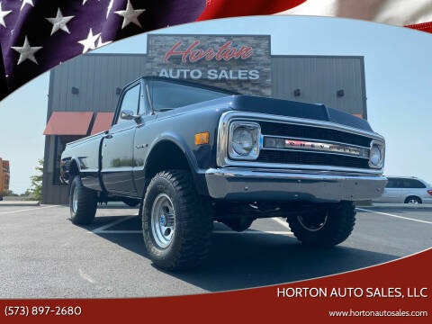 1972 Chevrolet C/K 10 Series for sale at HORTON AUTO SALES, LLC in Linn MO