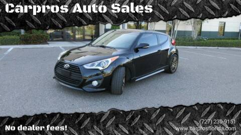 2016 Hyundai Veloster for sale at Carpros Auto Sales in Largo FL
