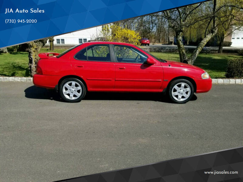 2006 Nissan Sentra for sale at JIA Auto Sales in Port Monmouth NJ