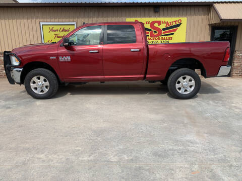 2014 RAM Ram Pickup 2500 for sale at BIG 'S' AUTO & TRACTOR SALES in Blanchard OK