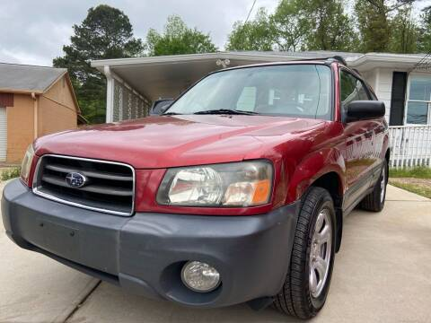 2004 Subaru Forester for sale at Efficiency Auto Buyers in Milton GA