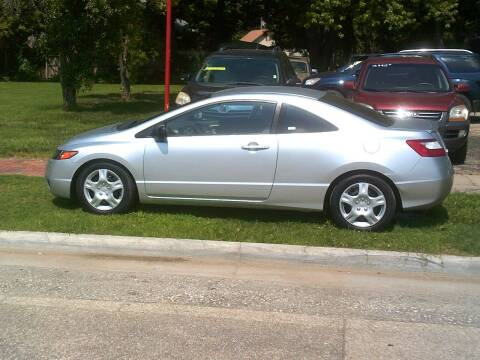 2008 Honda Civic for sale at D & D Auto Sales in Topeka KS