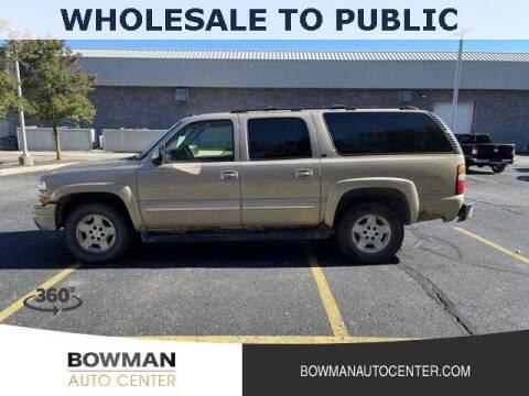 2005 Chevrolet Suburban for sale at Bowman Auto Center in Clarkston MI