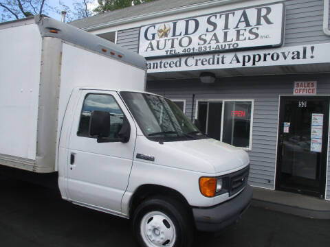 2006 Ford E-Series Chassis for sale at Gold Star Auto Sales in Johnston RI
