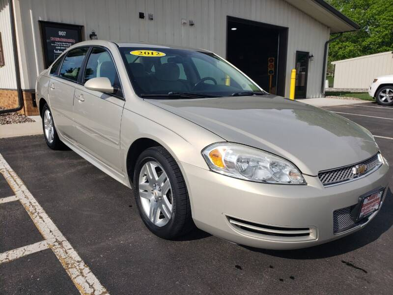 2012 Chevrolet Impala for sale at Kubly's Automotive in Brodhead WI
