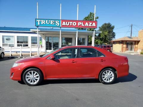 2012 Toyota Camry Hybrid for sale at True's Auto Plaza in Union Gap WA