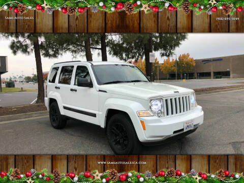 2012 Jeep Liberty for sale at Sams Auto Sales in North Highlands CA
