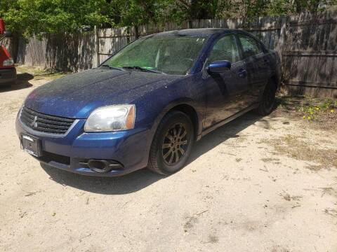 2009 Mitsubishi Galant for sale at Northwoods Auto & Truck Sales in Machesney Park IL