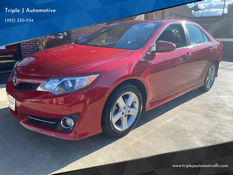 2013 Toyota Camry for sale at Triple J Automotive in Erwin TN