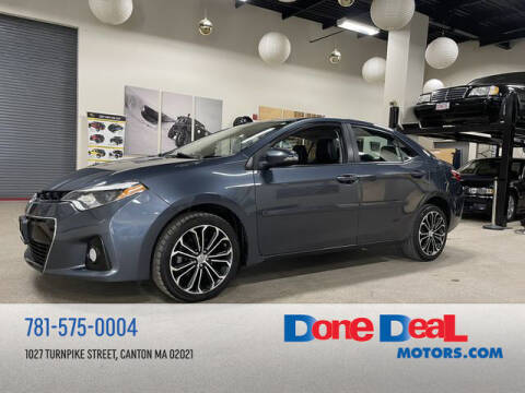 2014 Toyota Corolla for sale at DONE DEAL MOTORS in Canton MA