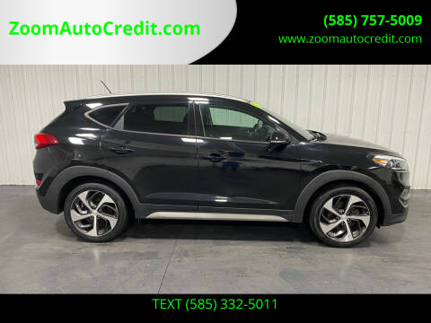 2017 Hyundai Tucson for sale at ZoomAutoCredit.com in Elba NY