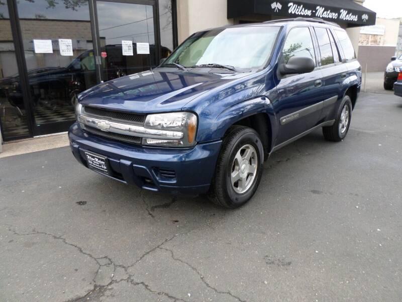 2004 Chevrolet TrailBlazer for sale at Wilson-Maturo Motors in New Haven Ct CT