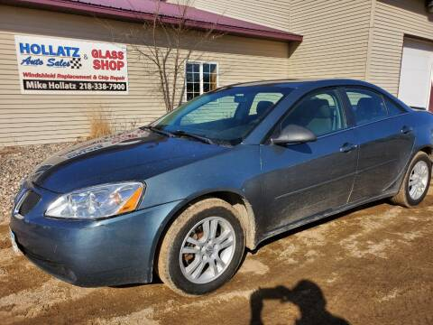 2006 Pontiac G6 for sale at Hollatz Auto Sales in Parkers Prairie MN