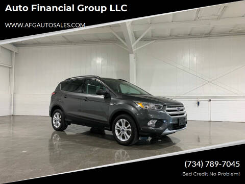 2018 Ford Escape for sale at Auto Financial Group LLC in Flat Rock MI