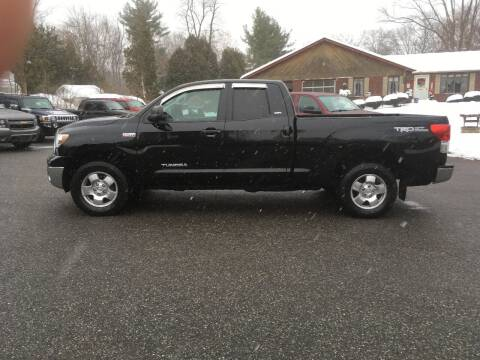 2011 Toyota Tundra for sale at Lou Rivers Used Cars in Palmer MA