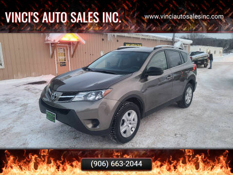 2015 Toyota RAV4 for sale at Vinci's Auto Sales Inc. in Bessemer MI