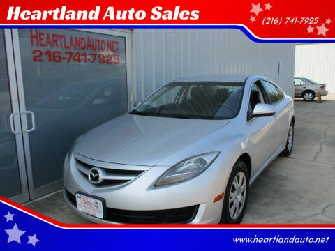 2013 Mazda MAZDA6 for sale at Heartland Auto Sales in Medina OH