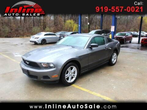 2010 Ford Mustang for sale at Inline Auto Sales in Fuquay Varina NC