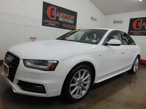 2016 Audi A4 for sale at Champion Motors in Amherst NH