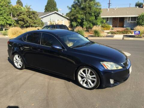 2007 Lexus IS 250 for sale at Carmelo Auto Sales Inc in Orange CA