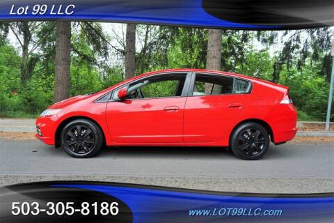 2012 Honda Insight for sale at LOT 99 LLC in Milwaukie OR