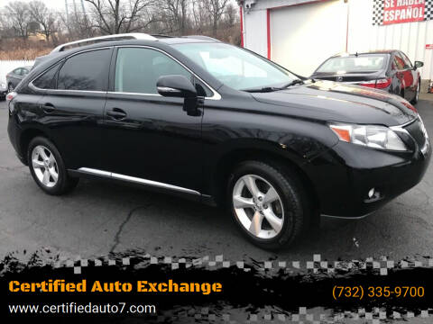2010 Lexus RX 350 for sale at Certified Auto Exchange in Keyport NJ