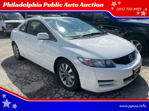 2010 Honda Civic for sale at Philadelphia Public Auto Auction in Philadelphia PA