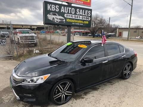 2017 Honda Accord for sale at KBS Auto Sales in Cincinnati OH