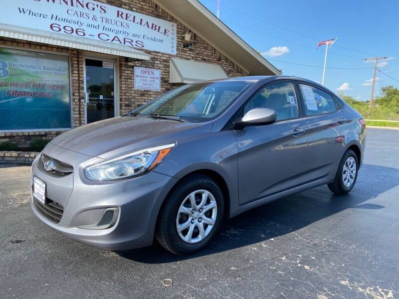 2016 Hyundai Accent for sale at Browning's Reliable Cars & Trucks in Wichita Falls TX