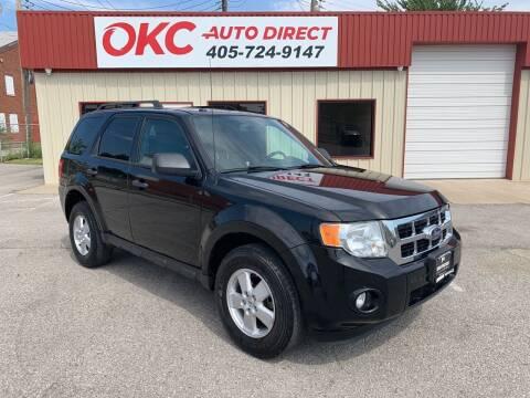 2010 Ford Escape for sale at OKC Auto Direct in Oklahoma City OK