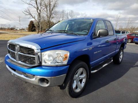 2007 Dodge Ram Pickup 1500 for sale at Pack's Peak Auto in Hillsboro OH