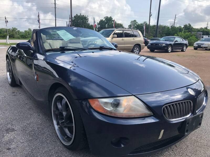 2005 BMW Z4 for sale in Spring, TX