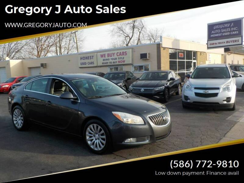 2011 Buick Regal for sale at Gregory J Auto Sales in Roseville MI