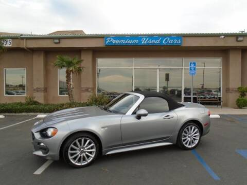 2017 FIAT 124 Spider for sale at Family Auto Sales in Victorville CA