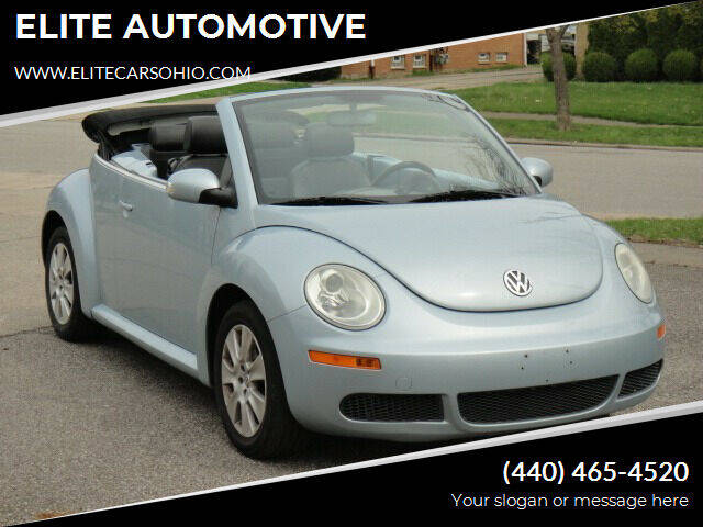 2009 Volkswagen New Beetle for sale at ELITE CARS OHIO LLC in Solon OH