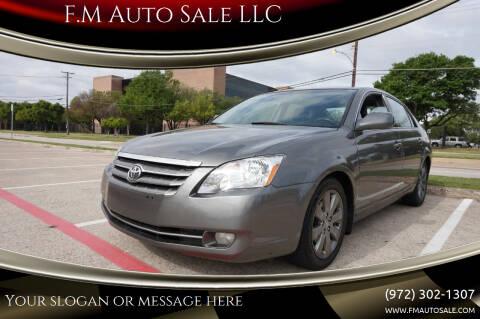 2007 Toyota Avalon for sale at F.M Auto Sale LLC in Dallas TX