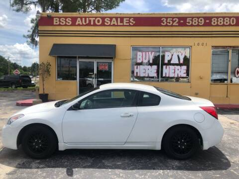 2009 Nissan Altima for sale at BSS AUTO SALES INC in Eustis FL