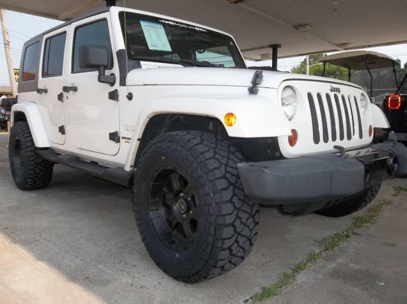 2010 Jeep Wrangler Unlimited for sale at Broken Arrow Motor Co in Broken Arrow OK