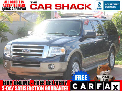 2014 Ford Expedition EL for sale at The Car Shack in Hialeah FL