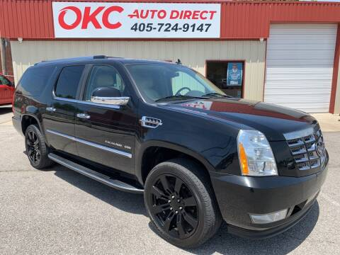 2011 Cadillac Escalade ESV for sale at OKC Auto Direct in Oklahoma City OK